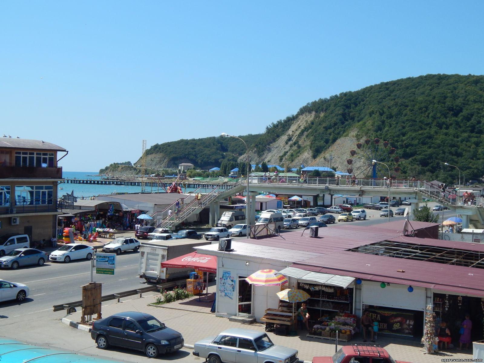 Пляжи в поселке лермонтово фото